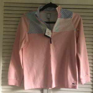 Girls Vineyard Vines Target pullover pink NEW